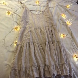 Brandy Melville Babydoll Dress in Light Pink